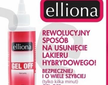Rewolucyjny środek do usuwania lakieru hybrydowego - ELLIONA GEL OFF już w naszej ofercie!